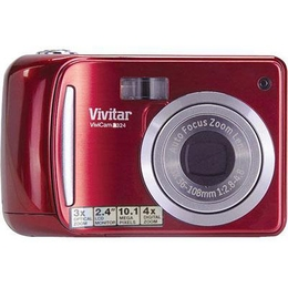 Buy Vivitar Cameras - Vivitar 10MP Dig Camera Red